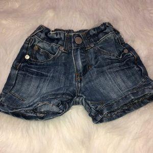 Pumpkin patch baby shorts